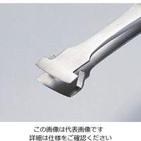 アズワン MEISTERピンセット ウェハー用 NW-SA 幅広 耐酸鋼 1本 9-5694-01 (直送品)