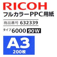 リコー フルカラーコピー用紙 タイプ6000(90W) A3