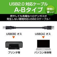 USB2.0ケーブル A-B 5m