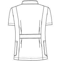 オンワード 白衣 メンズケーシージャケット BR-4003 ホワイト S