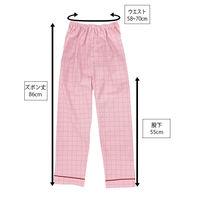 患者衣(男女兼用)パンツ ピンク S