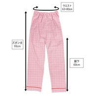 患者衣(男女兼用)パンツ ピンク M