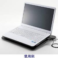 サンワサプライ ノート用クーラーパッド(TURBO機能付き) TK-CLN19U (取寄品)