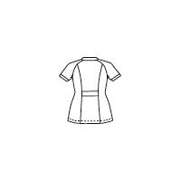 高浜ユニフォーム 女子 ジャケット 半袖 AN52657 ネイビー L 1枚 (取寄品)