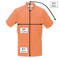 ルコックスポルティフ センターファスナースクラブ オレンジ L UQM1524 1枚 (直送品)