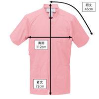ルコックスポルティフ センターファスナースクラブ ピンク L UQM1524 1枚 (直送品)