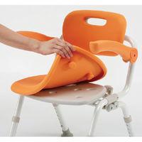 シャワーチェア ユクリア コンパクトSPおりたたみ オレンジ PN-L41321D パナソニック エイジフリー (取寄品)