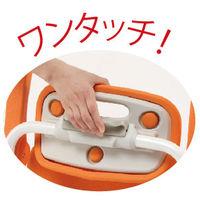 シャワーチェア ユクリア ワイドSPワンタッチU型 オレンジ PN-L41521D パナソニック エイジフリー (取寄品)