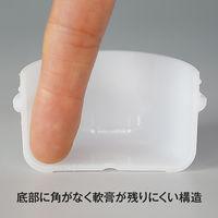 金鵄製作所 アルファ軟膏壺(増量型軟膏容器) 36mL ホワイト 1袋(150個:30個入×5袋)