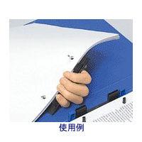 キングジム バネックスファイル A4タテ 青 336アオ 1箱(10冊入) (取寄品)