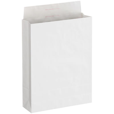 「現場のチカラ」 宅配袋 大 フィルムなし 白 無地 封緘シール付 1箱(200枚入) スーパーバッグ