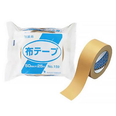 寺岡 布テープ No159 茶 5巻