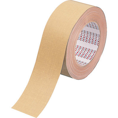 布テープ No.600 0.31mm厚 50mm×25m巻 茶 1セット(5巻:1巻×5) 積水化学工業
