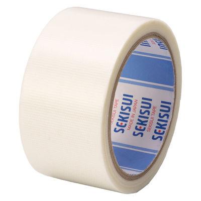 ポリエチレンテープ 半透明(半透明クロステープ) No.781 0.145mm厚 50mm×25m巻 白 1セット(5巻:1巻×5) 積水化学工業
