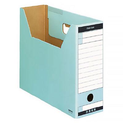 ファイルボックス A4横 青