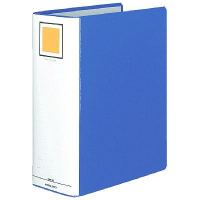 コクヨ チューブファイル(エコ) A4タテ とじ厚100mm 2穴 ブルー フ-E6100B 1箱(10冊入)