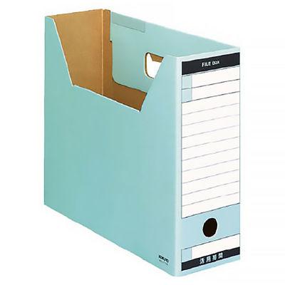 ファイルボックス A4横 青 10個