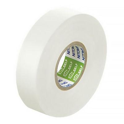 ニトムズ ビニルテープS 白 19mm×20m巻 J2585 1箱(10巻入)