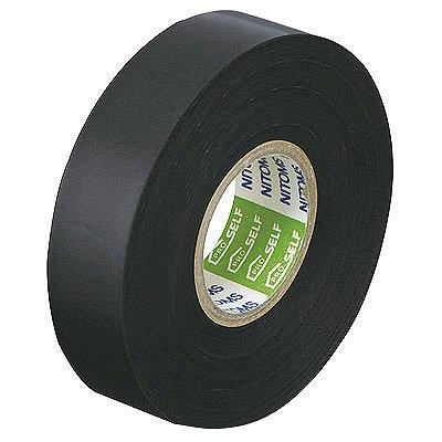 ニトムズ ビニルテープS 黒 19mm×20m巻 J2587 1箱(10巻入)