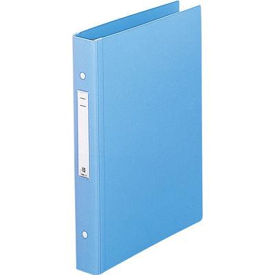 リヒトラブ メディカルサポートブック スタンダード ブルー 2穴 背幅41mm HB676-1 1箱(10冊入) (直送品)