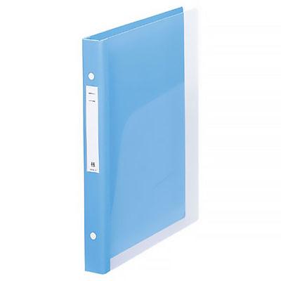 リヒトラブ メディカルサポートブック クリヤー ブルー 2穴 背幅31mm HB666-1 1箱(10冊入) (直送品)
