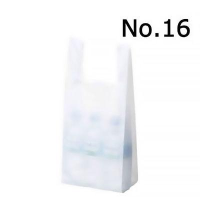 レジ袋 乳白 No.16 1000枚
