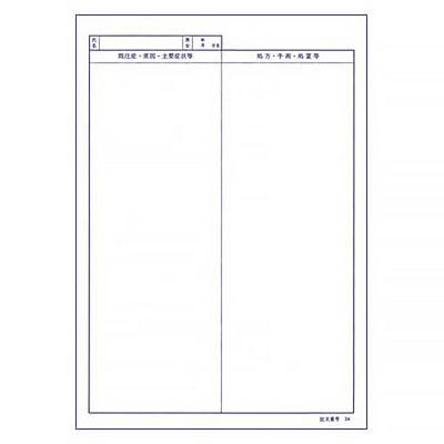 B5医科診療録 2号紙 国保用 CCC102 1冊(100枚入) イムラ封筒