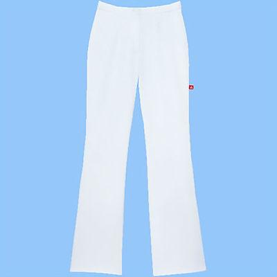 ルコックスポルティフ ナースパンツ ブーツカットパンツ UQW2011 ホワイト LB