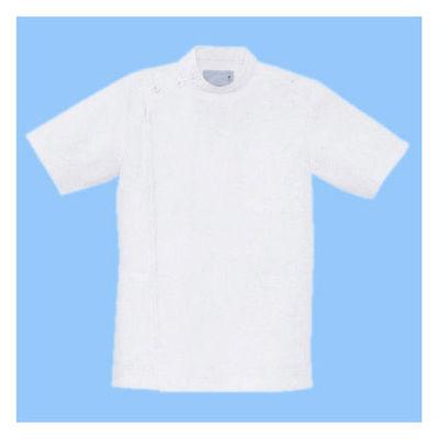 男子横掛半袖 ホワイト L