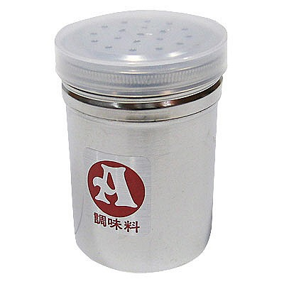 SA18-8調味缶(アクリル蓋付) 小 A缶 BTY02001 遠藤商事 (取寄品)
