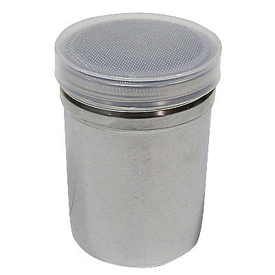 SA18-8パウダー缶(アクリル蓋付) 小 BPU01003 遠藤商事 (取寄品)