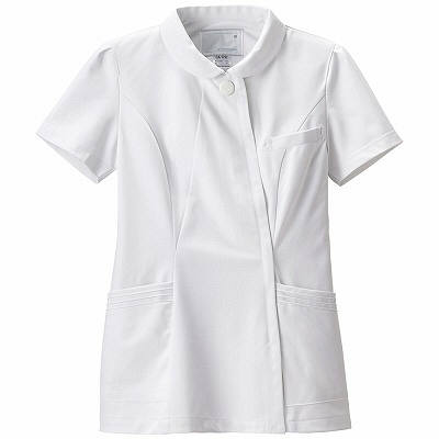 ナガイレーベン エレガントジャケット CA1792 ホワイト EL 白衣 ナースジャケット 1枚(取寄品)