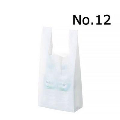 レジ袋 乳白 No.12 6000枚