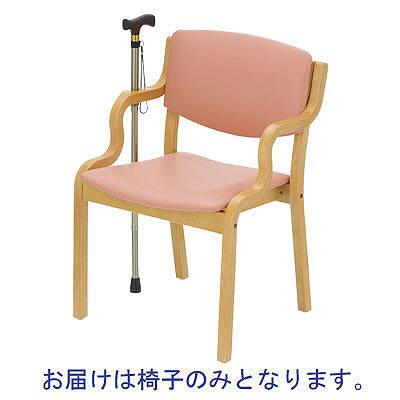 ディー・エル・エム 福祉用椅子 ライトピンク PD-5005S 1脚