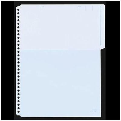キングジム ハーフポケット A4S 103HPアオ 1袋(50枚:10枚入×5袋)