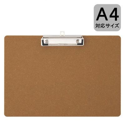 アール・エフ・ヤマカワ MDFクリップボード A4ヨコ RFCP-A4Y 1箱(100枚:10枚入×10箱)