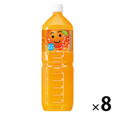 なっちゃんオレンジ1.5L 8本