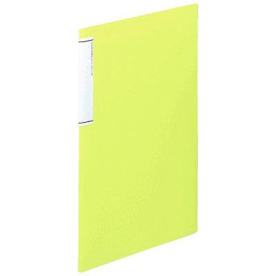 リヒトラブ クリヤーブック(スリム)10P 黄緑 N7110ー6 業パ 1箱(20冊入) (直送品)