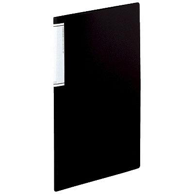 リヒトラブ クリヤーブック(スリム)10P 黒 N7110ー24 業パ 1箱(20冊入) (直送品)