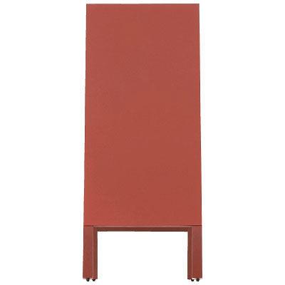 光 A型スタンド黒板 赤 TBD94-2 (取寄品)