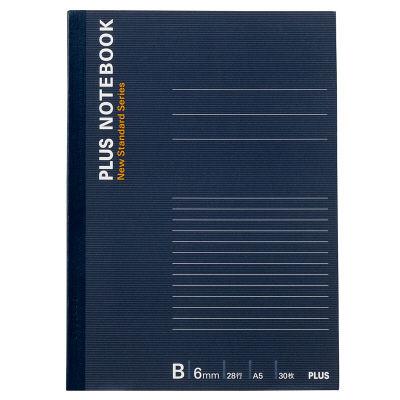 プラス ノートブックNO-103BS A5 30枚 B罫 76711 (直送品)