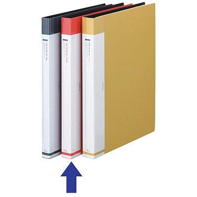 リヒトラブ 名刺ファイル 名刺帳交換式 540名 赤 G8813-3 (取寄品)