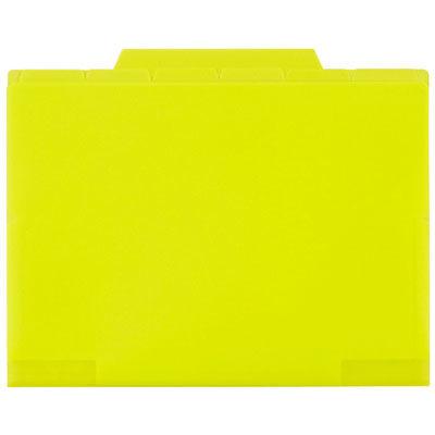 セキセイ インデックスフォルダー 12インデックス ライトグリーン ACT-912-33 (取寄品)