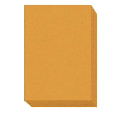 エコノミーカラーペーパー A3 業務用パック 1箱(2500枚入) オレンジ アスクル