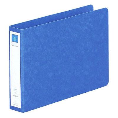 リヒトラブ リングファイル A5ヨコ 背幅35mm 藍 F831UN-5 1箱(10冊入)