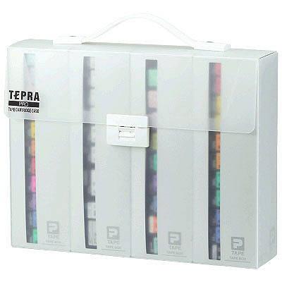 キングジム 「テプラ」PRO カートリッジケース A4 (取寄品)