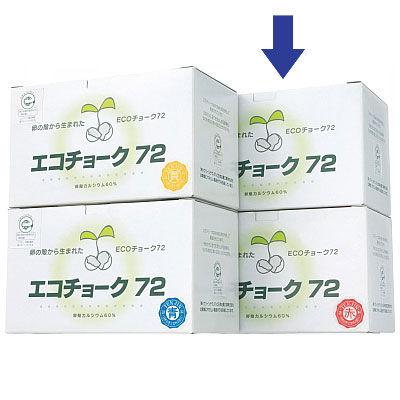 エコチョーク TGNECO1 白 TGNECO1 1セット(216本:72本入×3箱) 日本白墨工業 (取寄品)