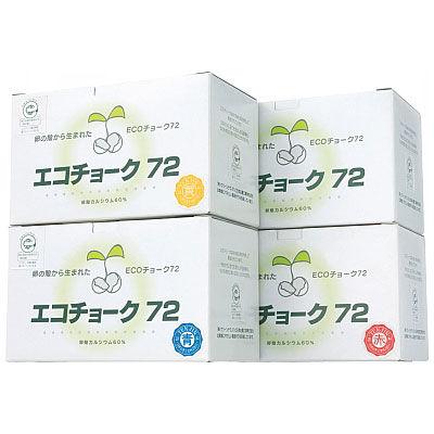 エコチョーク 白 TGNECO1 1箱(72本入) 日本白墨工業 (取寄品)