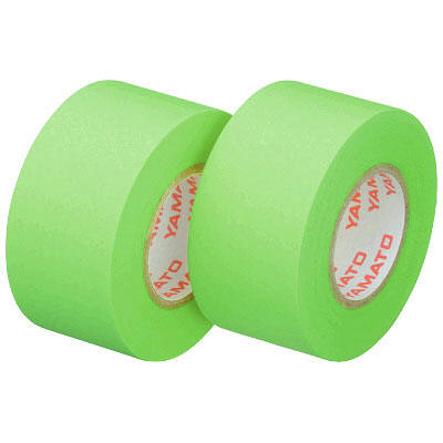 ヤマト メモックロールテープ詰替用 幅25mm×13m巻 ライム 24巻(2巻入×12パック)