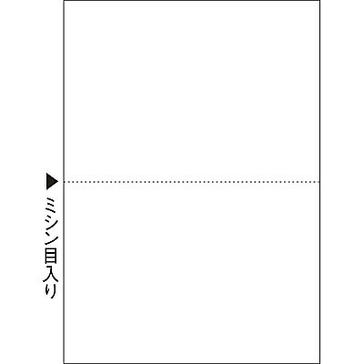 ヒサゴ マルチプリンタ帳票(FSC) FSC2002 A4 白紙2面 1セット(100枚入×3冊)